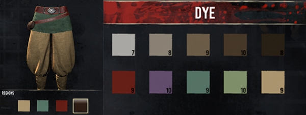 Dye - Conan Exciles introduces armor dyes