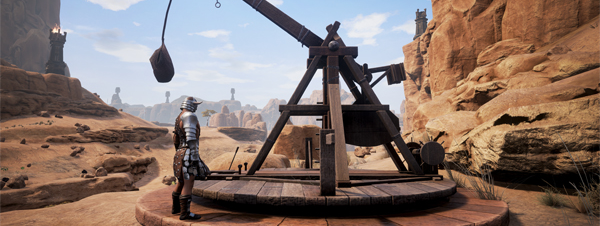 Next up for Conan Exiles  Dye armor, trebuchet and Thrall animations